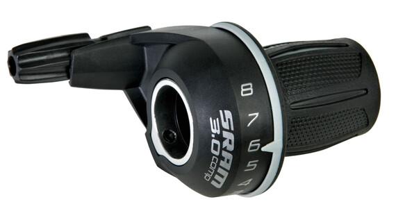 SRAM MRX Comp Klamkomanetka 8-prędkości tylna/prawa czarny